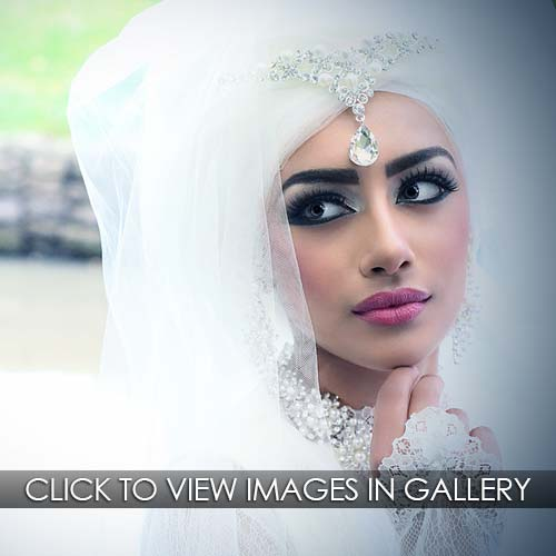Pakistani Bridal Photoshoot Outdoors